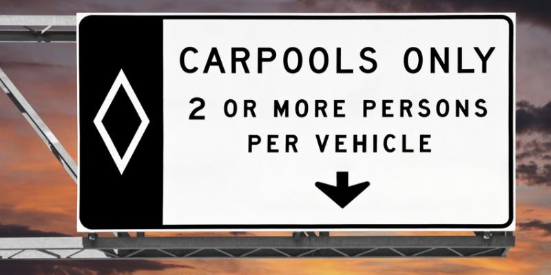carpool-sign